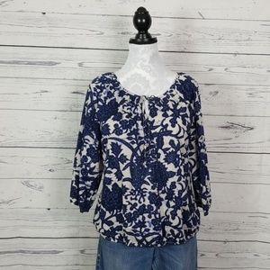 LOFT Factory boho blouse